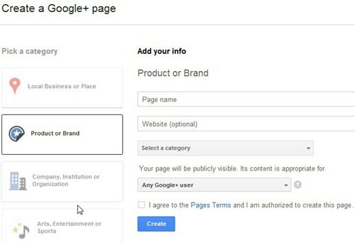 create-a-google-plus-page-for-blog-website-step-1-product-or-brand
