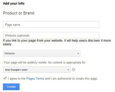 create-a-google-plus-page-for-blog-website-step-2-product-or-brand
