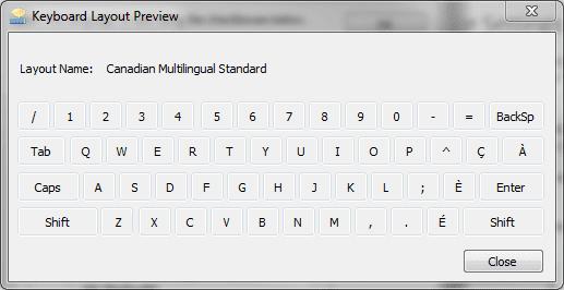 Windows Typing: Pressing Slash Key (