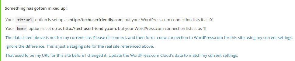 WordPress/Jetpack: