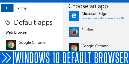 Windows 10 Default Browser Doesn't Get Saved – Workaround/Solution