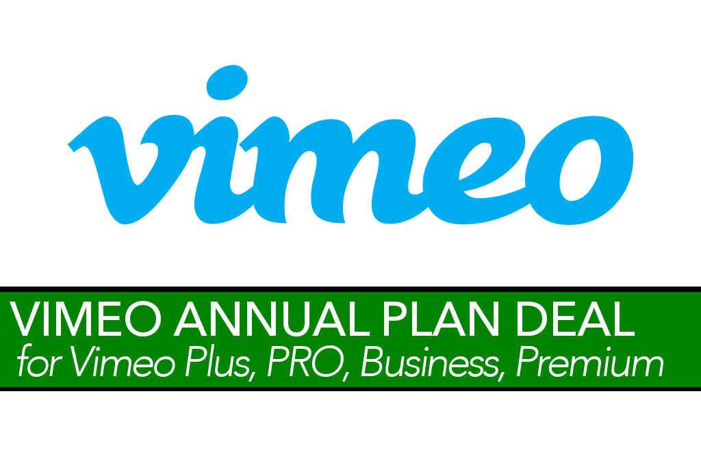Vimeo Annual Plan Promo Code Deal (Apr 2019) » TechUserFriendlycom